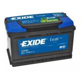 Baterie auto Excell 80Ah, 640A, 80 - 100, Exide