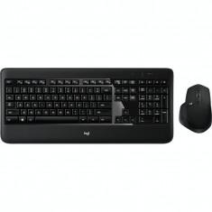 Kit tastatura + mouse Logitech MX900, Wireless, Negru foto