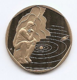 Ungaria 200 Forint 2000 (End of Millennium) Bronz, 29.2 mm KM-745 aUNC, Europa