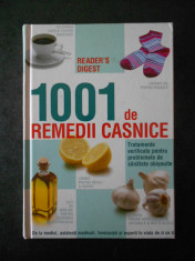 1001 DE REMEDII CASNICE. READER'S DIGEST foto