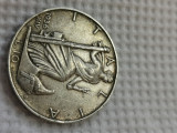 Italia 10 lire 1936, argint