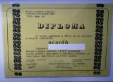 Diploma a XXV aniversare Iprochim - I.I.T.P.I.C. Filiala Iași