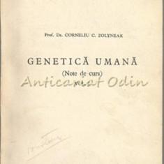 Genetica Umana I - Corneliu C. Zolyneak