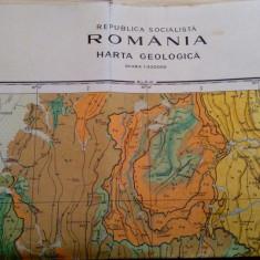 Covasna. Harta Geologica 1:200.000. Nu contine carte - Institutul Geologic, 1968