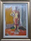 Femeie nud - semnat  Bomberg '54