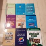 Set 20 carti: economie, management, matematica, contabilitate