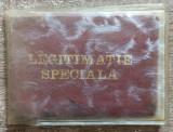 Legitimatie speciala Ministerul Industriei Chimice 1987