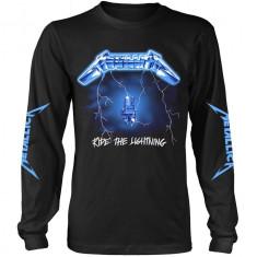 Tricou Maneca Lunga Metallica: Ride The Lightning