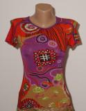 Tricou multicolor ETRO, S/M, Imprimeu floral