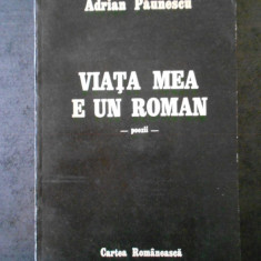ADRIAN PAUNESCU - VIATA MEA E UN ROMAN (1987)