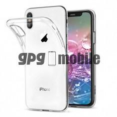 Husa TPU pentru Apple iPhone X, Transparenta, Bulk