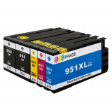 Cartuse imprimanta HP 950XL 951XL (set de 5) GPC