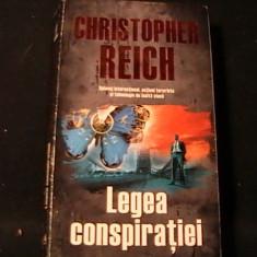 LEGEA CONSPIRATIEI-CHRIST. REICH-SPIONAJ INTERNATI. SI TEHNOLO. DE INALTA CLASA-