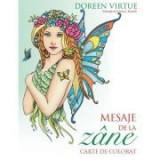 Mesaje de la zane. Carte de colorat - Doreen Virtue