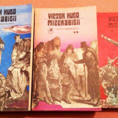 Mizerabilii 3 Vol. Editura Cartea Romaneasca, 1981 - Victor Hugo