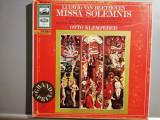 Beethoven – Missa Solemnis – 2 LP Box (1973/Emi/RFG) - Vinil/Impecabil