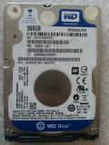 Hard disk laptop 500GB, HDD SATA 2.5 Western Digital WD5000LPVX 2, 5400 rpm OK, 500-999 GB, SATA 3