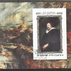 Korea 1978 Paintings, Rubens, imperf. sheet, used T.340