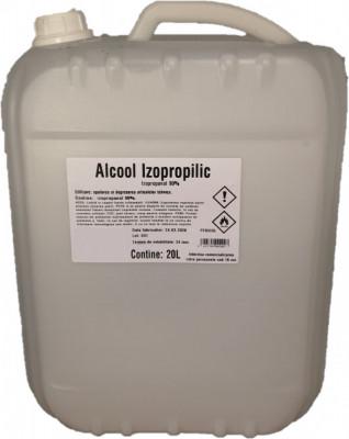 Alcool Izopropilic Izopropanol 90% 20L transport gratuit oriunde in tara foto