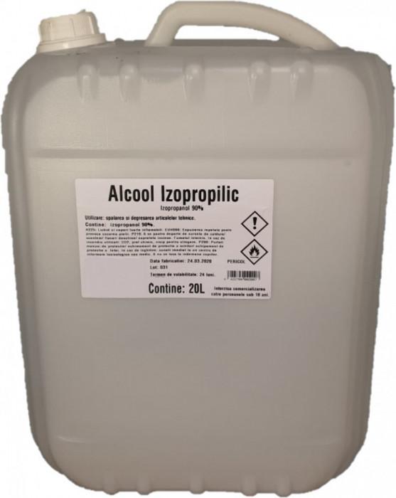 Alcool Izopropilic Izopropanol 90% 20L transport gratuit oriunde in tara