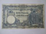 Cumpara ieftin An rar! Belgia 100 Francs-20 Belgas 1927