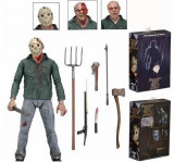 Cumpara ieftin Figurina JASON friday the 13th, 18 cm, Neca, Jason black friday, figurina horror