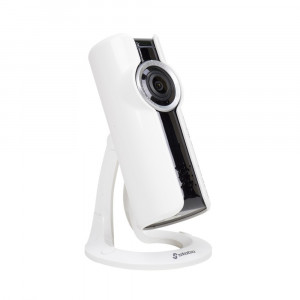 Aproape nou: Camera supraveghere video Stabo WLAN indoorcam_fisheye 180, 720P, 1MP,