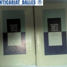 FILOSOFIA GREACA PANA LA PLATON - volumul 1 (partea 1+partea 2)