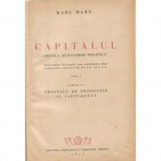 Capitalul. Critica economiei politice (Vol. 1) - Karl Marx