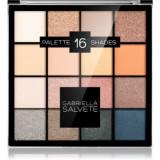 Gabriella Salvete Eyeshadow 16 Shades Palette paletă cu farduri de ochi