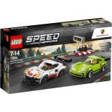 LEGO® Speed Champions - Porsche 911 RSR si 911 Turbo 3.0 75888