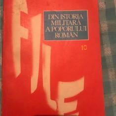 Din istoria militara a poporului roman vol.10