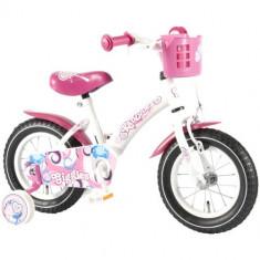 Bicicleta cu Roti Ajutatoare Giggles 12 inch