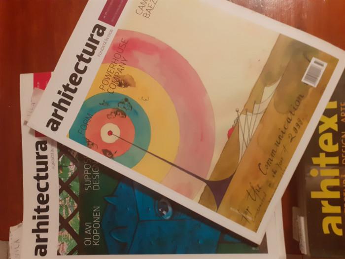 Arhitectura, Arhitext, reviste ale Unihnii Arhitecților