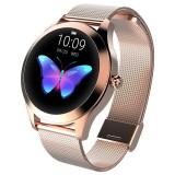Ceasul pentru femei KW10 KINGWEAR Smartwatch, ECG, PPG, ciclul, AUR, Otel inoxidabil, Rose Gold