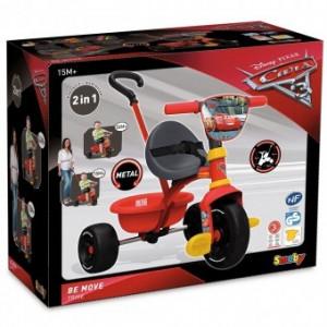 Tricicleta Pentru Copii Smoby Be Fun Cars 3