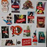 Set de 15 stickere Supreme - abtibild waterproof laptop/telefon