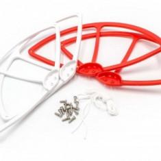 Rotor-schutz-set / abdeckungen passend pentru dji phantom 1,2,3 u.a. weiß-rot, ,