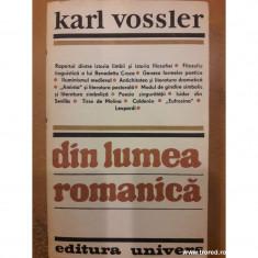 Din lumea romanica