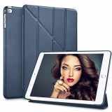 "Cumpara ieftin Husa Tableta Apple iPad 9.7"" 5Th Generation 2018 IPad Air 5 ofera protectie Ultrasubtire Lux Oregami Blue"
