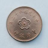 TAIWAN - 1 Yuan 1973, Asia, Nichel