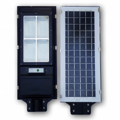 Proiector metalic cu panou solar 60w senzor miscare 160 leduri