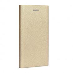 Cumpara ieftin Husa SAMSUNG Galaxy S9 - Leather Bravo TSS, Auriu