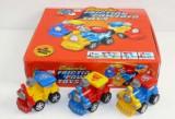 Jucarie Locomotiva colorata pentru copii 2990E, Albastru