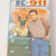 Caseta video VHS originala film tradus Ro - K-911