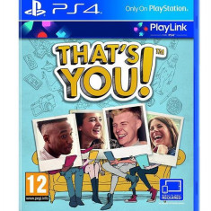 That S You! Ps4