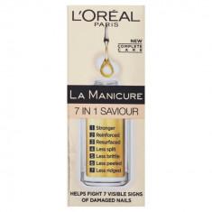 Ser unghii L'Oreal Paris La Manicure Miracle Nail Repair 7 in 1, 5 ml, L'oreal Paris
