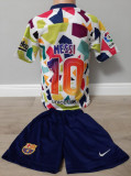 Echipament fotbal pentru copii FC.Barcelona Messi marimea 140