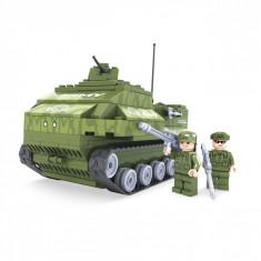 Set cuburi lego, model tanc, 199 piese
