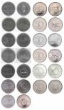UNGARIA SET COMPLET 50 Forint 2004 05 06 2007 2015 2016 2017 2018 2019 2020 UNC, Europa
